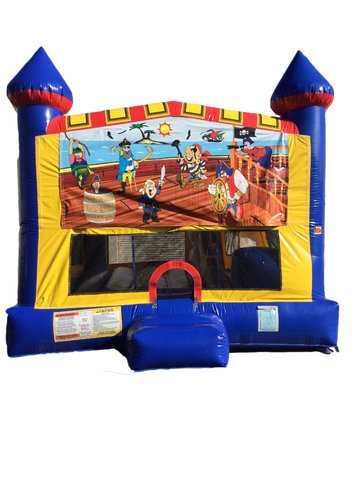 Pirates 4 n 1 Combo Bounce House