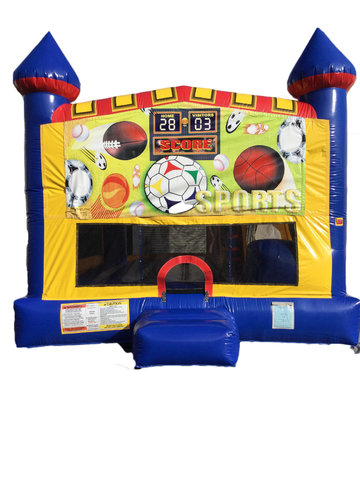 Sports 4 n 1 Combo Bounce House