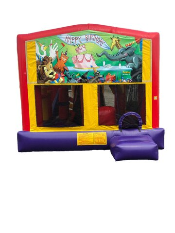 Birthday 5 n 1 Combo Bounce House