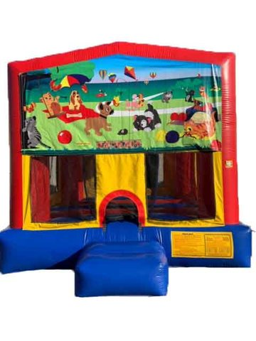 Kitty and Puppy Bounce House