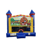 Animal Farm 4 n 1 Combo Bounce House