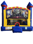 Battle star 4 n 1 Combo Bounce House