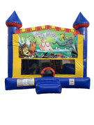 Birthday 4 n 1 Combo Bounce House
