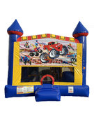Monster Truck 4 n 1 Combo Bounce House