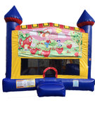 Strawberry 4 n 1 Combo Bounce House