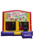 Strawberry 5 n 1 Combo Bounce House
