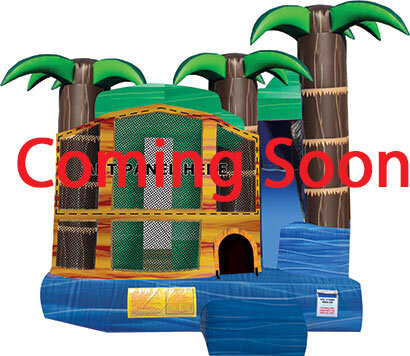 Tropical Breeze Combo Bounce House