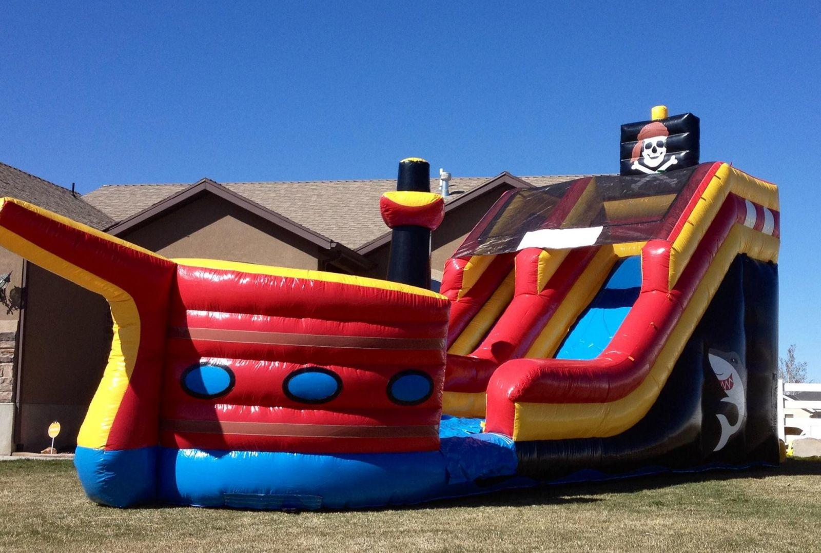 18ft Pirate Ship Slide in Tooele County Utah