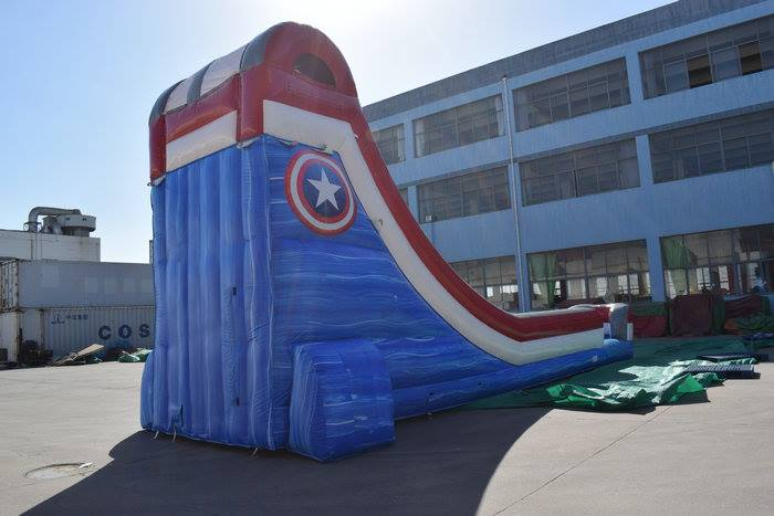 Jumpin Jack Splash Captain America Slide