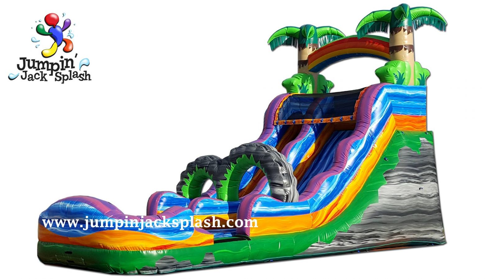 Maui Splash Water Slide Jumpin Jack Splash Utah