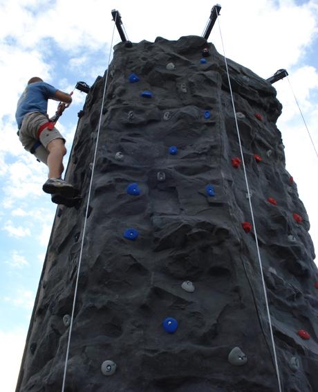 Mobile Rock Climbing Wall - Jumpin Jack Splash