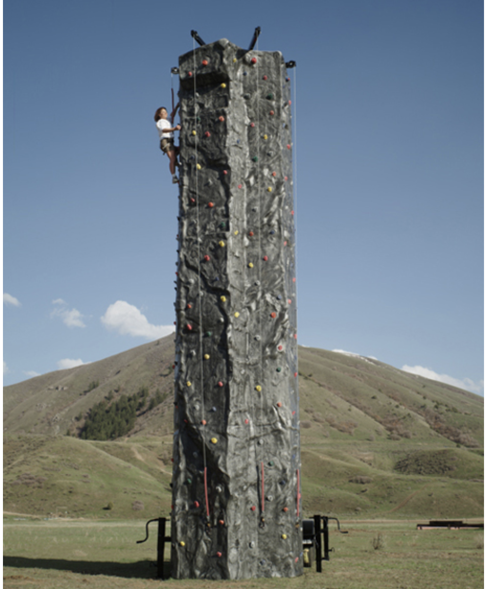 Mobile Climbing Wall Jumpin Jack Splash UT