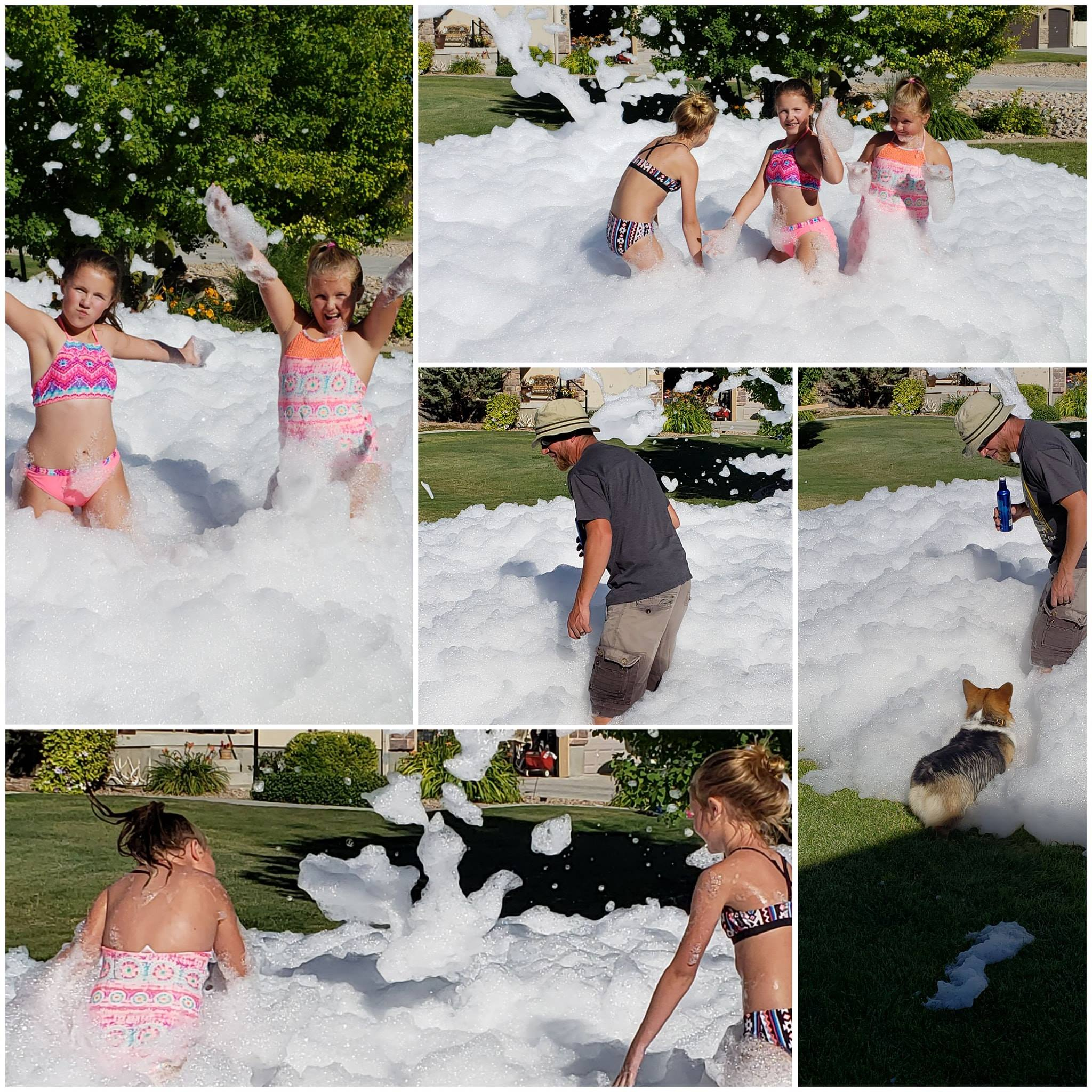 Jumpin Jack Splash Foam Party