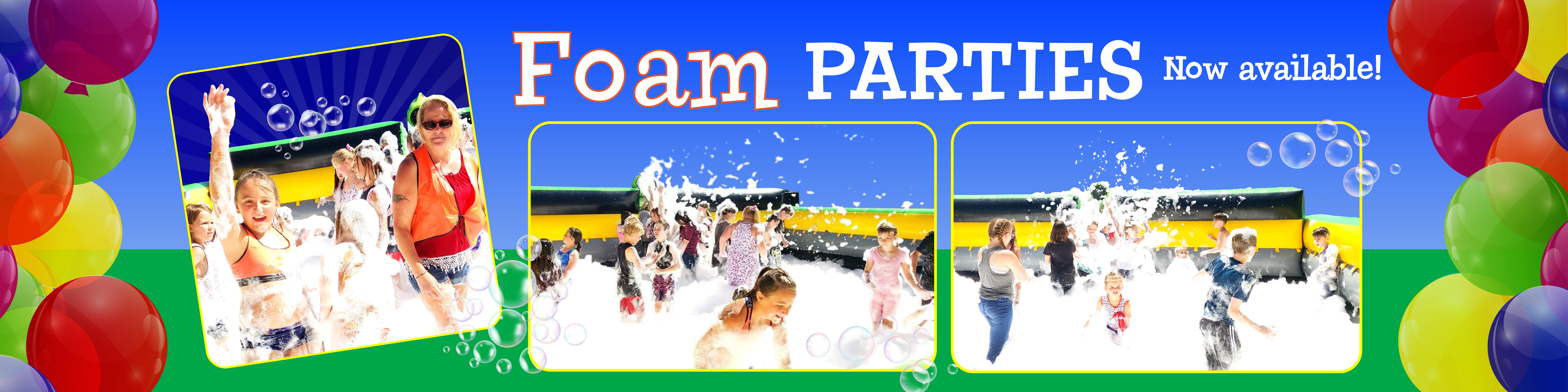 Foam Parties by Jumpin Jack Splash