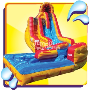 Fire and Ice Slide-Jumpin Jack Splash