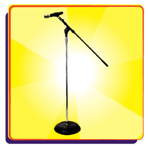 Wireless Microphone w/ Stand