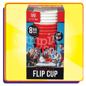 Giant Flip Cup Game