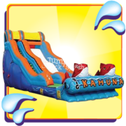 The Big Kahuna Water Slide–18ft Use Wet or Dry!