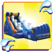 The Riptide Water Slide – 18ft Use Wet or Dry!