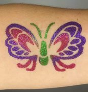 Glitter Tattoo Artist (hourly)