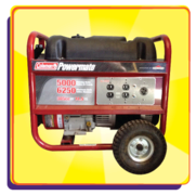 Discounted Generator  ONLY with an Inflatable Rental