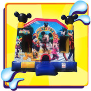 Mickey Mouse Combo Has an AWESOME 8.5ft Internal Slide-Excellent for Smaller Yards