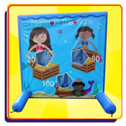Mermaid Beanbag Toss Game