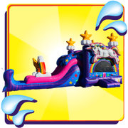 Magical Unicorn Dual Lane Combo For Children 12-yr Old and Younger