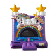 "<h5><span style=""color: blue;""><strong>Magical Unicorn Bounce House</span></h5> <span style=""color: red;""><medium>New for 2019. For Children 8-yr Old and Younger</small></strong></span>"