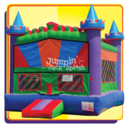 "<h5><span style=""color: blue;""><strong>Deluxe Castle Bounce House</span></h5> <span style=""color: red;""><medium>For Children 8-yr Old and Younger</medium></strong></span>"
