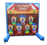 "<h5><span style=""color: blue;""><strong>Clown Beanbag Toss Game</span></h5> <span style=""color: red;""><medium></medium></strong></span>"