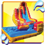 Fire and Ice Slide – 20ft Double Lane Very Fast & Steep Drop!