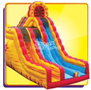 <p>20ft Double Lane Fire and Ice Slide *DRY*</p><p>Not Eligible for the Wednesday Half-Price Day Special</p>