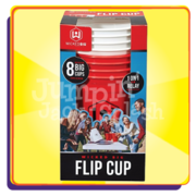 "<h5><span style=""color: blue;""><strong>Giant Flip Cup Game</span></h5> <span style=""color: red;""><medium></medium></strong></span>"