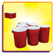 Discounted Giant Pong Set  ONLY with an Inflatable Rental