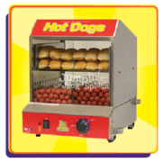 "<h5><span style=""color: blue;""><strong>Hot Dog Steamer</span></h5> <span style=""color: red;""><medium></medium></strong></span>"