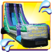 The Hulk Water Slide – 18ft Single Lane Use Wet or Dry!