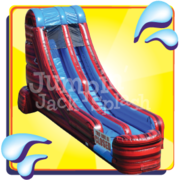 "18ft Superman Water Slide<p><b><span style=""color:#b22222;"">New for 2018</b></span></p>"