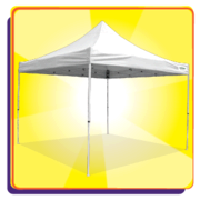 Canopies Only Delivered with Tables and Chairs or Inflatable Rentals