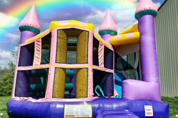 Dazzle Castle Combo Rental