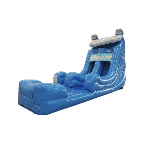 Dolphin Water Slide -18ft - Single Lane