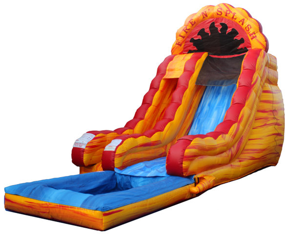 Fire and Splash Waterslide*