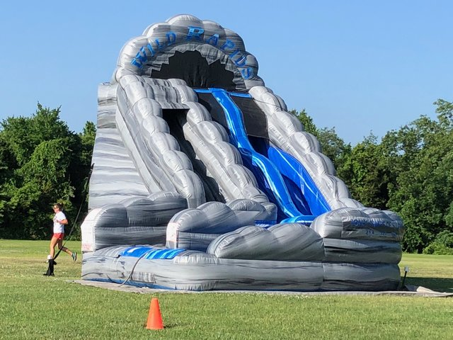 Wild Rapids Water Slide - 18ft - 2 Lane