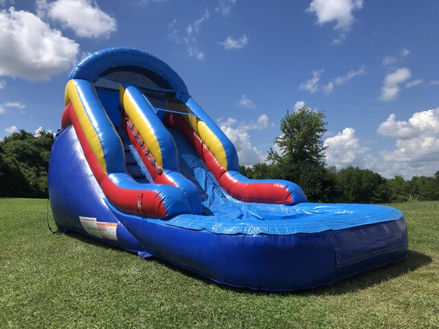 Little Splash Water Slide - 13ft - Single Lane