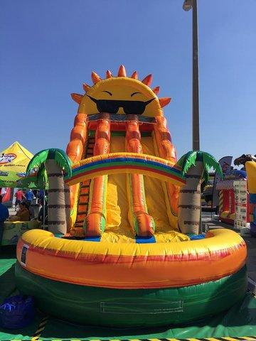 Paradise Sunshine Water Slide - 22ft - 2 Lane