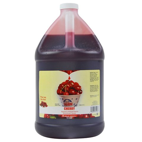 Cherry Sno Cone Syrup - Gallon