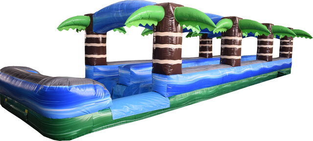 Tropical Double Lane Slip-n-Slide