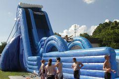 Full Throttle 35ft Waterslide