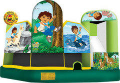 Go, Diego 5 in 1 Combo Bounce House