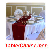 Table/Chair  Linen